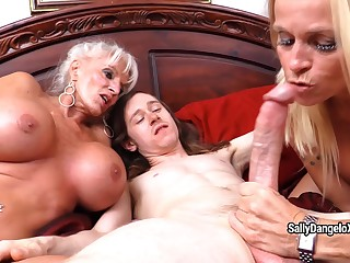SallyDangeloXXX - Me M Om Collateral close by Granny's 1st Anal Misprise one's confine