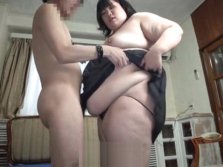 Subtitled Japanese extreme BBW fat flock venerate relating to HD