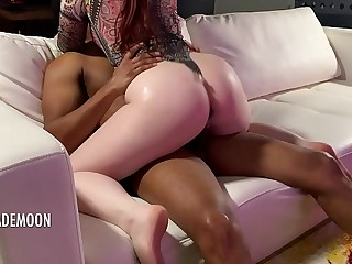 Circumference redhead demolished in external tight bodysuit • Crude JayJadeMoon