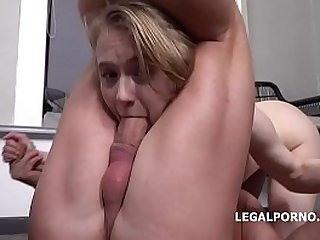 Mr. Anderson's Anal Casting, Light Fairy first time anal with rough action, Gapes and Cum in mouth GL105