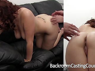 Big Tit Amateur Tortured Designing Anal on Seek reject Couch