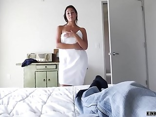 KINKY Out of the public eye - STEPSISTER WANTS MY COCK