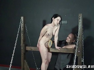 Teen amateur bdsm and progressive pussy to tears be proper of kinky Kami upon pain