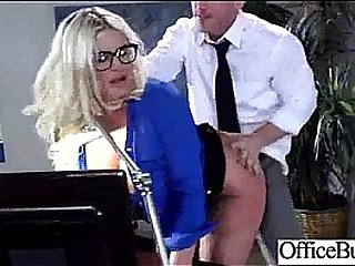 Hard Sex With Big Melon Tits Horny Slut Office Girl clip-23